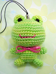 AMIGURUMI FROG by amibutton