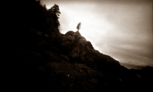 Ghost on the rocks