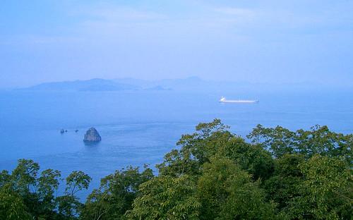 Kashima desde la cima