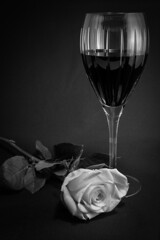 Glass and Rose