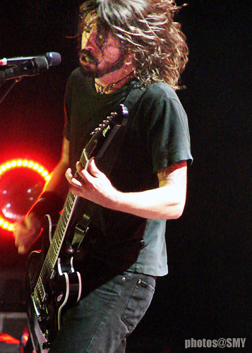 Grohl at the arena