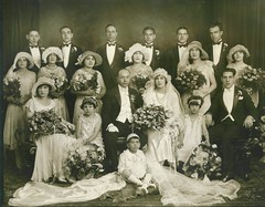 Italian Family Wedding 1927 1928 20s NYC