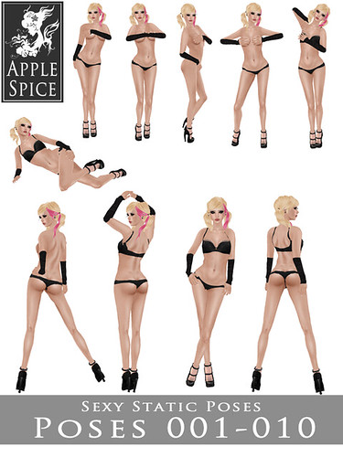 Apple Spice - Sexy Static Poses