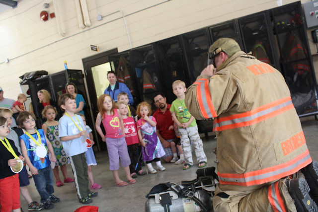 fire station field trip • preschool - 20
