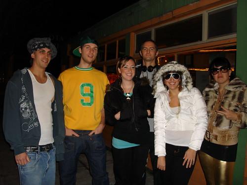 Anvil team on hip hop bus tour