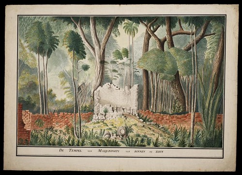 De Tempel van Madjanpoeti van Binnen te Zien