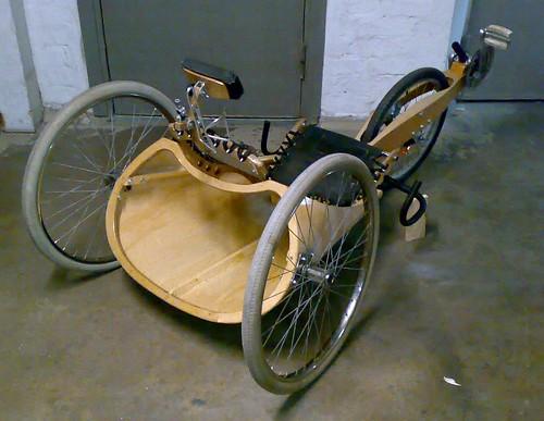 Wooden Recumbent Trike Plans