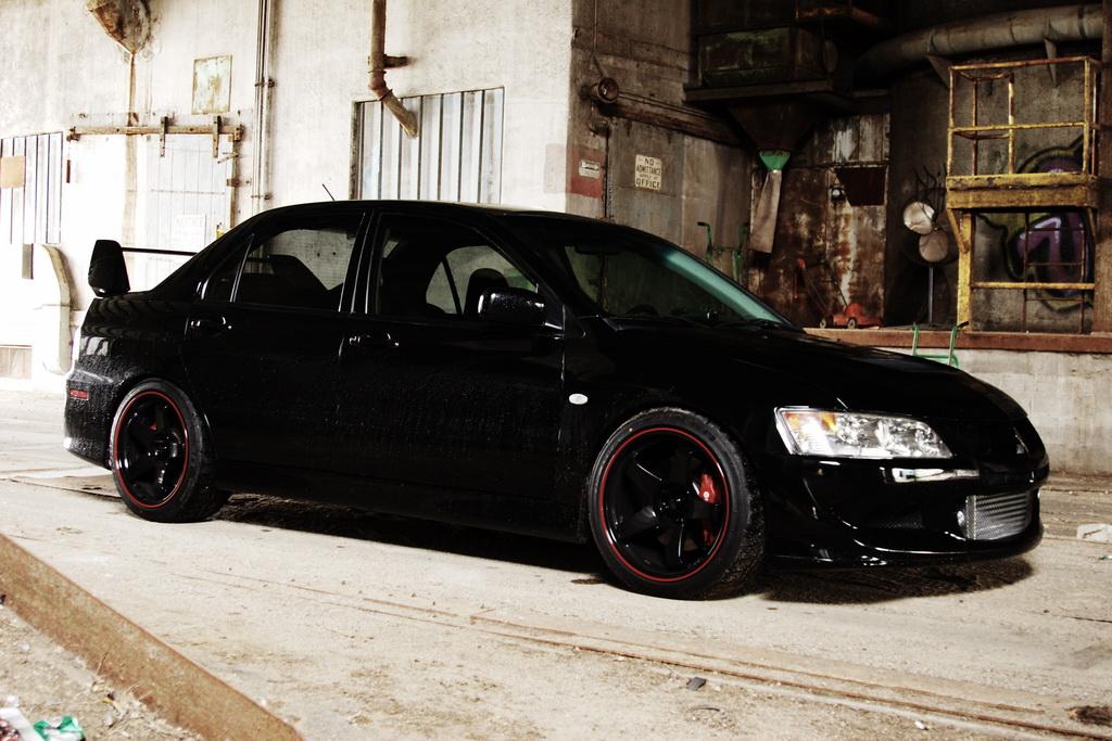 mitsubishi evo 8 modified. black mitsubishi lancer evo viii with rota p45r 1895 wheels gorgeous car evo 8 modified l