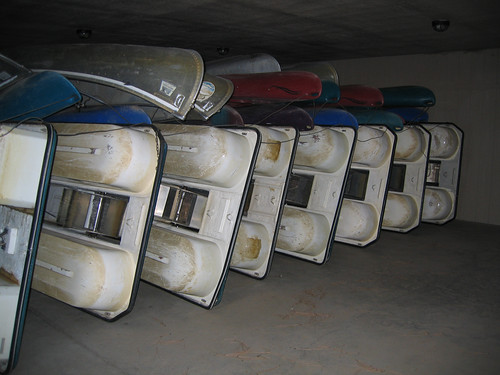 Day 02 - Lake Siskiyou Boats Stored for Winter