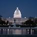 Blue US Capitol