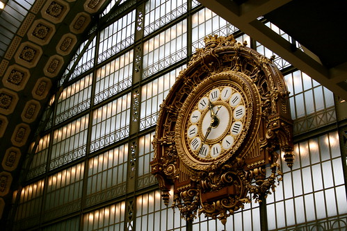 Ornate Station Clock