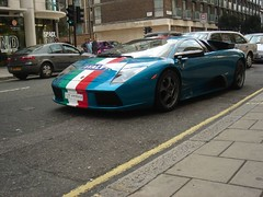 Ferrari in London
