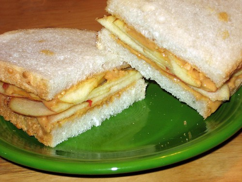 PB&A Sandwich, image copyright to Moxie @ flickr