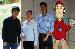 Look, I'm virtually at Start-Up@Singapore