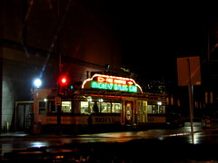 Mickey's Nightshot, downtown St. Paul, Minnesota, October 2007,photo © 2007 by QuoinMonkey. All rights reserved.