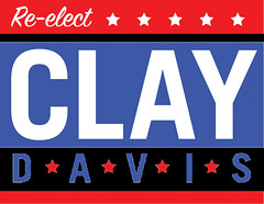 Re-Elect Sen. Clay Davis