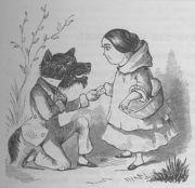 Caperucita Roja. Versión del lobo enamorado. (2/2)