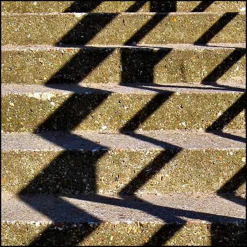 Steps and Shadows by Lincolnian (Brian)