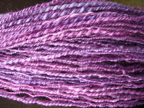 Hand Spun - Purple