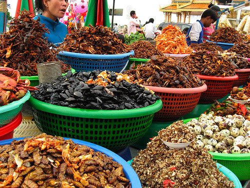 Cambodian snack foods