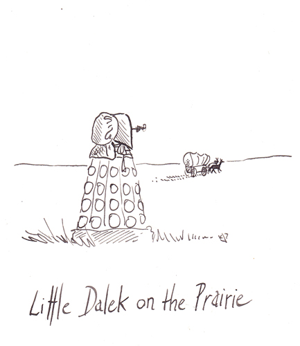 Little Dalek on the Prairie