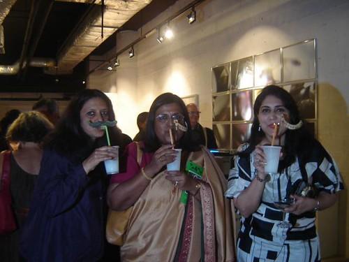 Pushpamala N, H.E.Lathea Reddy and Natasha Tulli