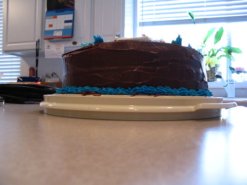 It was a cake of epic proportions.