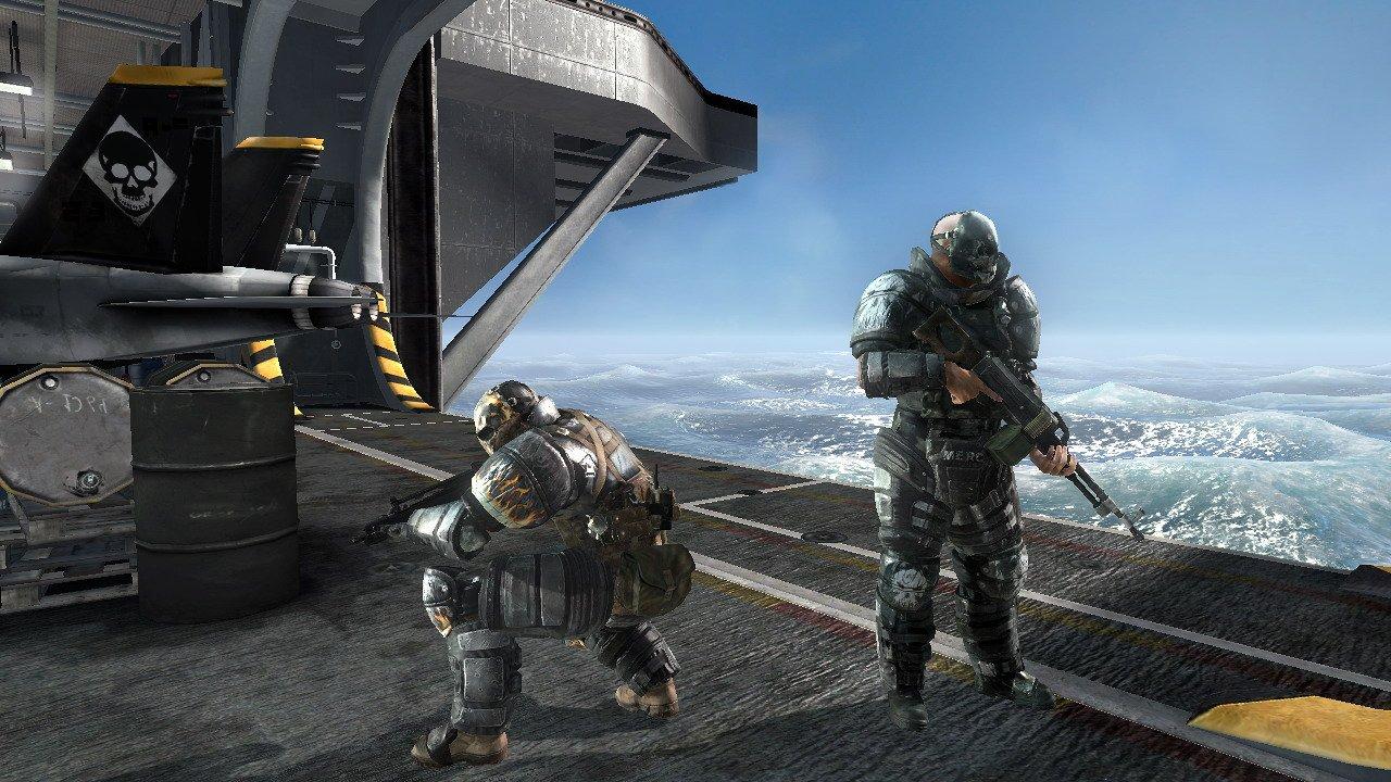 [達人專欄] 到哪我都黏著你?PS3版無間特攻ARMY OF TWO 另類圖片心得.. - hanson530的創作 - 巴哈姆特