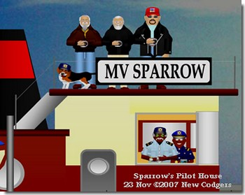 Sparrow's Pilot House 23 Nov ©2007 New Codgers