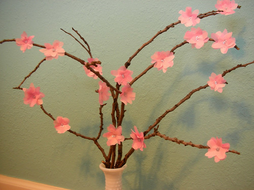Handmade Cherry Blossoms