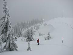 Black Mountain snowshoe, 6 Jan 2008