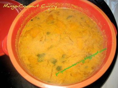 Mango Coconut Curry