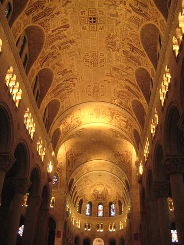 Ste Anne Basilica ceiling