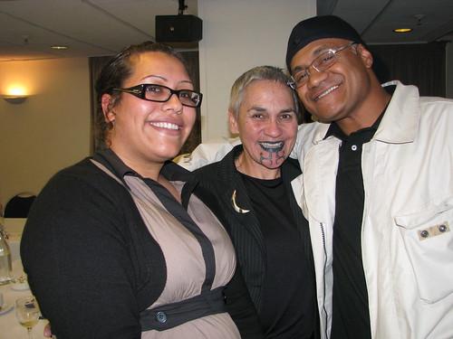 Ema Tavola, Dr Ngahuia Te Awekotuku, Oscar Kightley