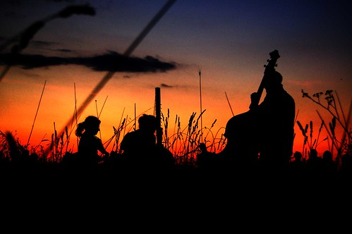 Viola, Contrabas, Cora and Sunset 0038