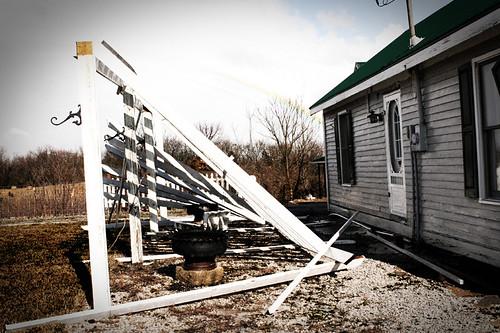 tornado damage at artCroft