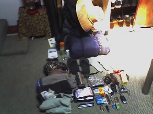 my gear to walkthe perimeter of Oahu