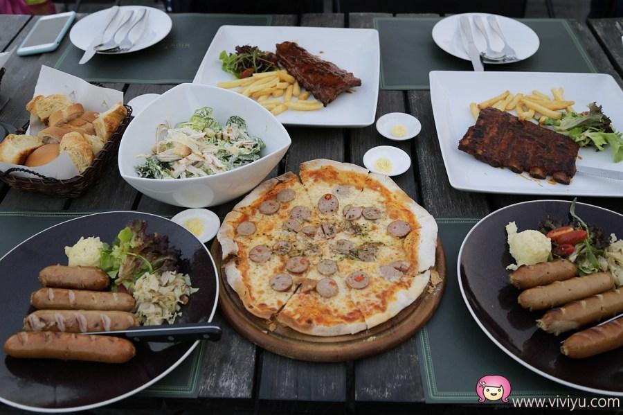 [拷艾.美食]Midwinter Green.曼谷近郊Khao Yai~歐式莊園建築.蔬菜直上餐桌.樂團現場演唱 @VIVIYU小世界