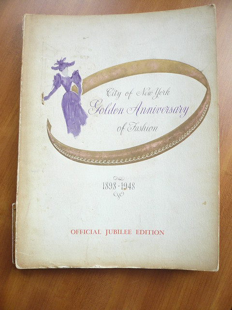 City of New York Golden Anniversary of Fashion 1898-1948