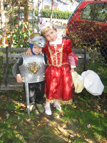 Princess Ruthie and her knight in shining armour