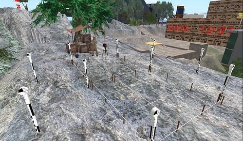 The dig site in Atlas