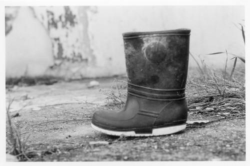 Abandoned Boot