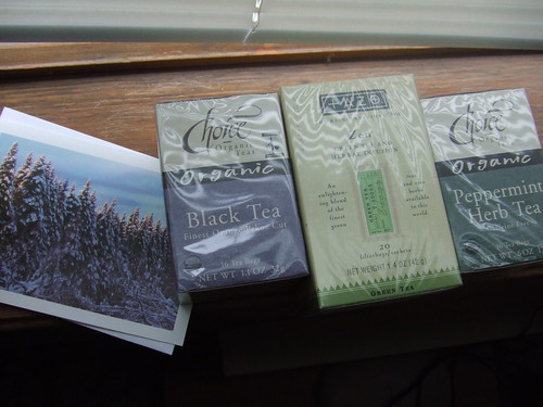 Card and Teas
