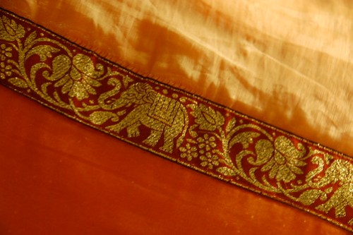 Detail: Silk Blanket by chiszeo