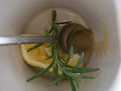 Meyer Lemon Rosemary Tea