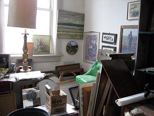 Room of paintings