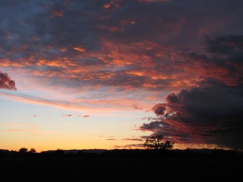 Sunset very late 031508