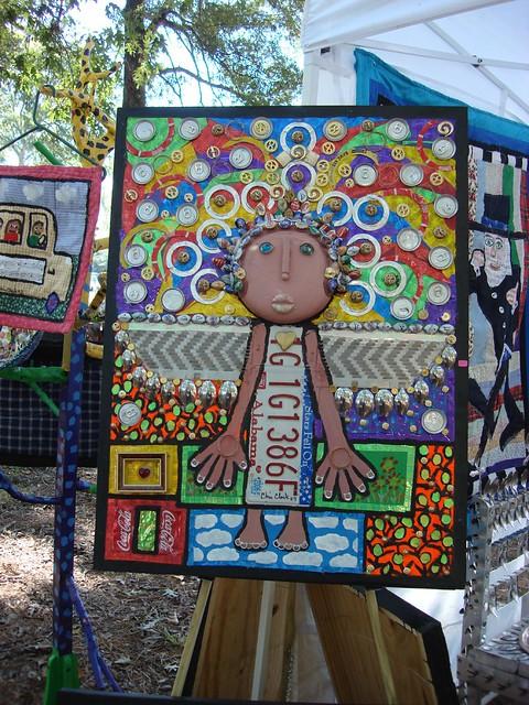 Artwork by Chris Clark at Kentuck, Northport AL