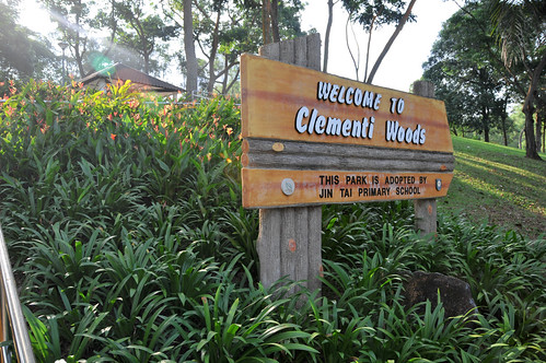 Clementi Woods Park to NUS