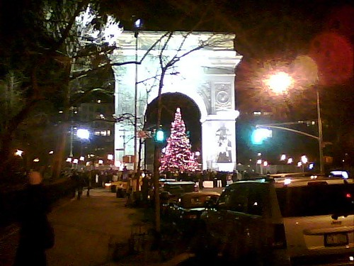 Chistmas at Washington Square